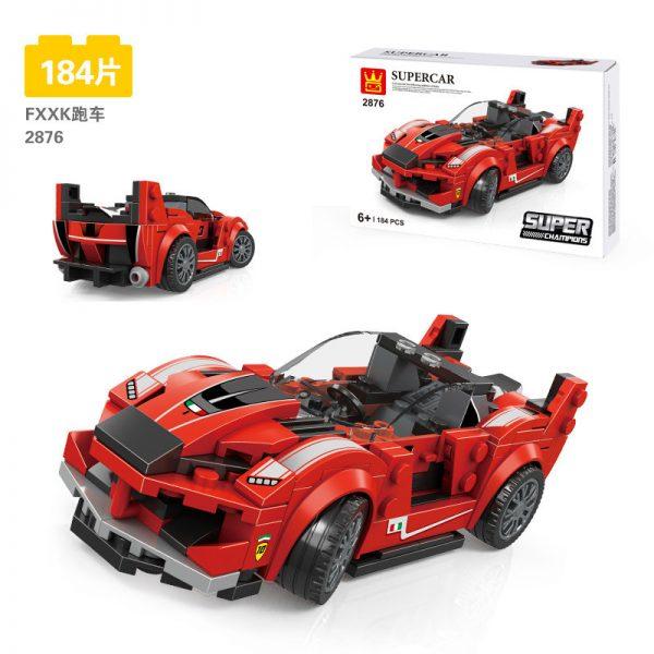 WANGE 2876 Ferrari FXX K and Research and Development Center 12