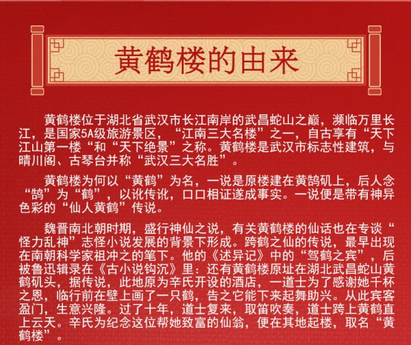 WANGE 6214 Yellow Crane Tower in Wuhan, Hubei Province 4