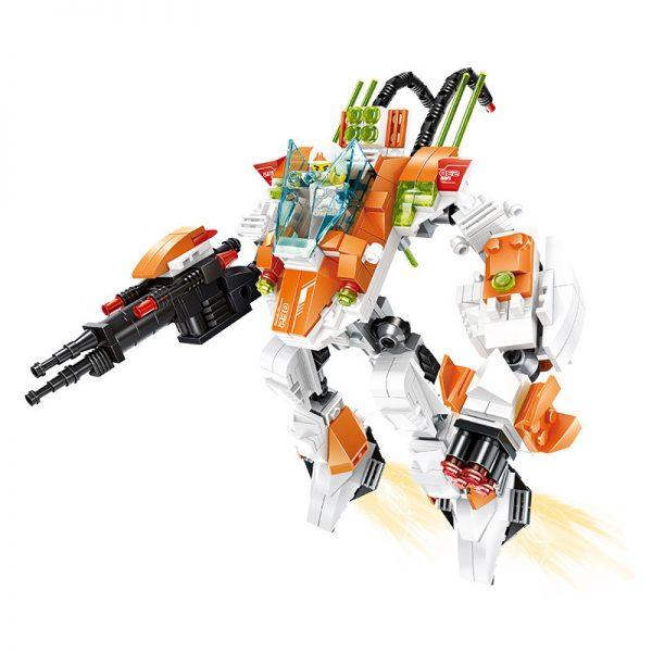 WANGE 55171 Ahead of The Military: Combat Robots 0