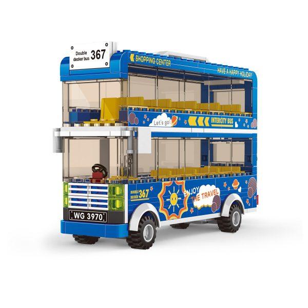 WANGE 3970 City Bus: Double-Decker Bus 0