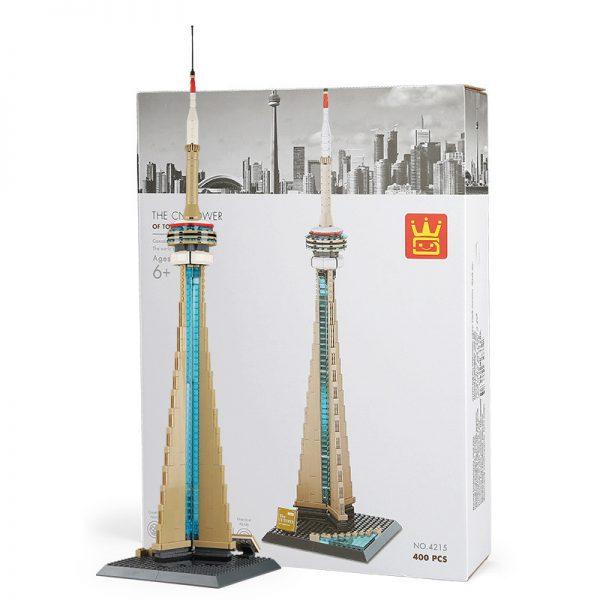 WANGE 4215 TV Tower, Toronto, Canada 0