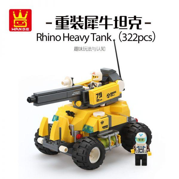 WANGE 3668 Reloaded Rhino Tank 0