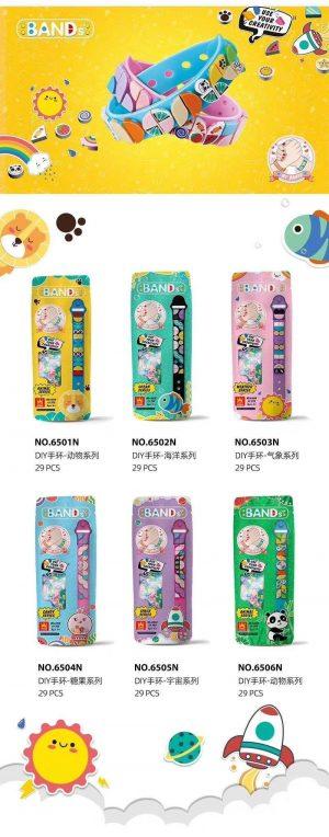 WANGE 6501N DIY bracelet: 6 pet series, ocean series, meteorological series, candy series, universe series, animal series 0