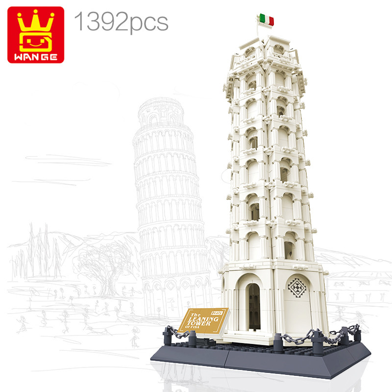 WANGE 5214 Leaning Tower of Pisa, Italy 0
