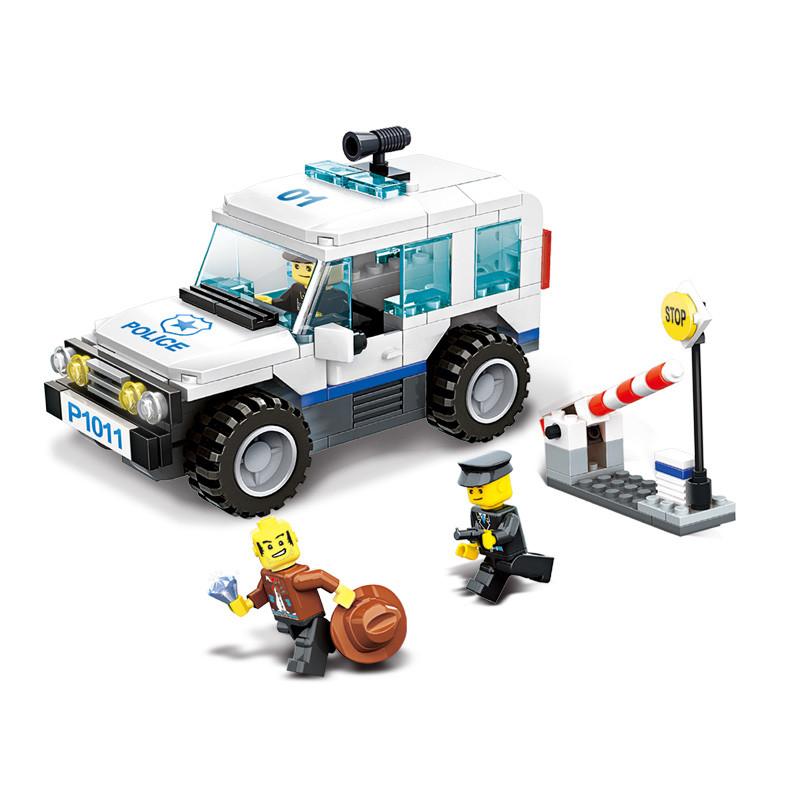 WANGE 51011 Police Patrol Vehicles 0