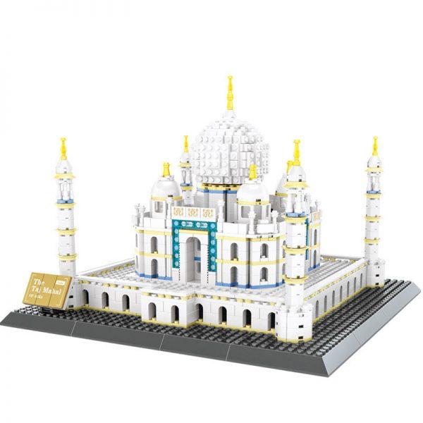 WANGE 5211 Taj Mahal, ancient city of Agra, India 0