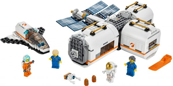 WANGE 4850 Space: The Moon Space Station 0
