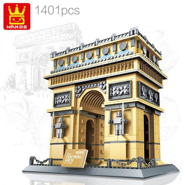 WANGE 8021 Arc de Triomphe, Paris, France 0