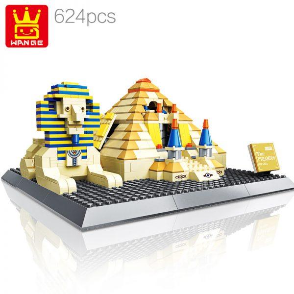 WANGE 4210 Pyramids of Giza, Egypt 0