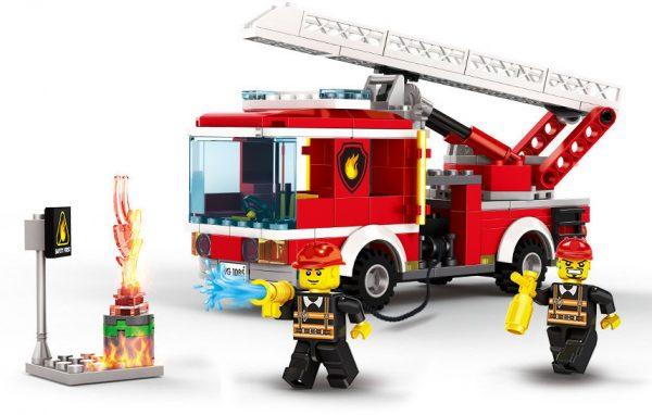 WANGE 2625 Fire Brigade: Ladder Fire Truck 0