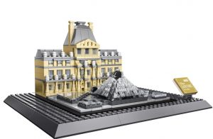 WANGE 4213 Louvre Museum of Paris 0