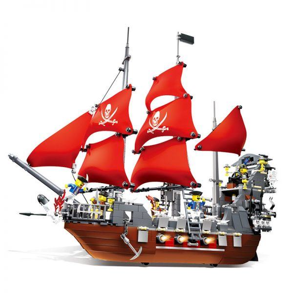 WANGE 53041 Pirate Land: Blackbeard 0