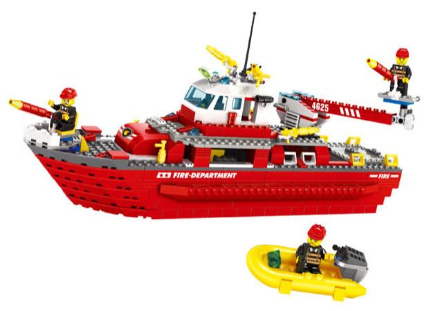 WANGE 4625 Fire Brigade: Marine Fire Boat 0