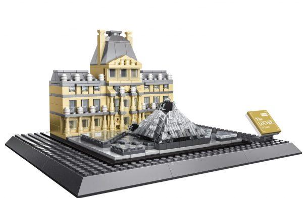 WANGE 7017 Louvre Museum of Paris 0
