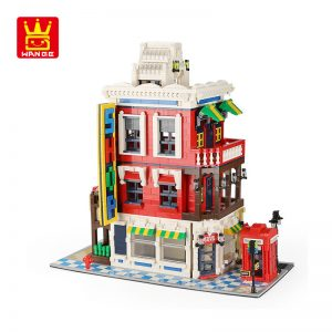 WANGE 6311 Architecture: Corner Shop 0