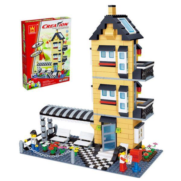 WANGE 32053 General villa series: C model three-storey ocean floor 0