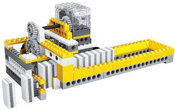 WANGE 1405 Power machinery: dominoes, lunar vehicles, windmills, balances 0