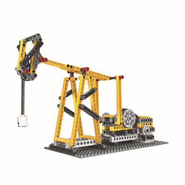 WANGE 1406 Power machinery: beam pumps, suspension bridges, pirate ships, sewing machines 0