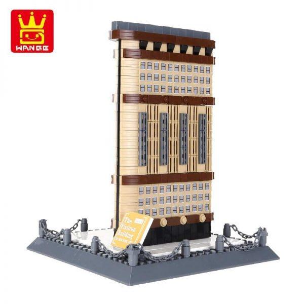 WANGE 4220 Iron Building New York USA Blocks 2 - WANGE Block