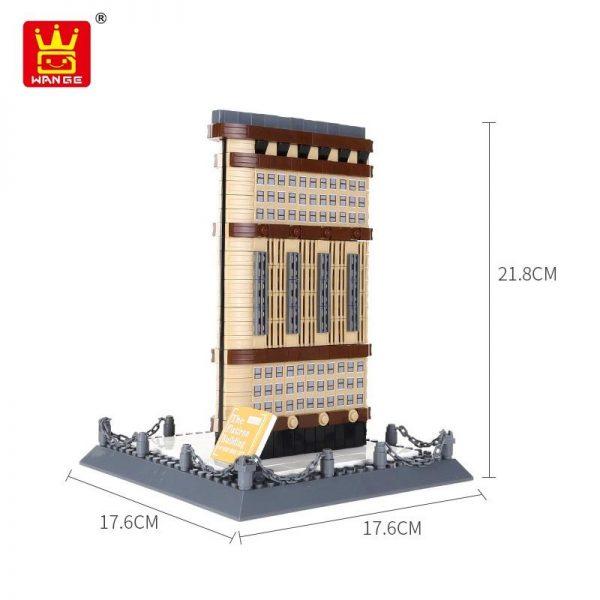 WANGE 4220 Iron Building New York USA Blocks 4 - WANGE Block