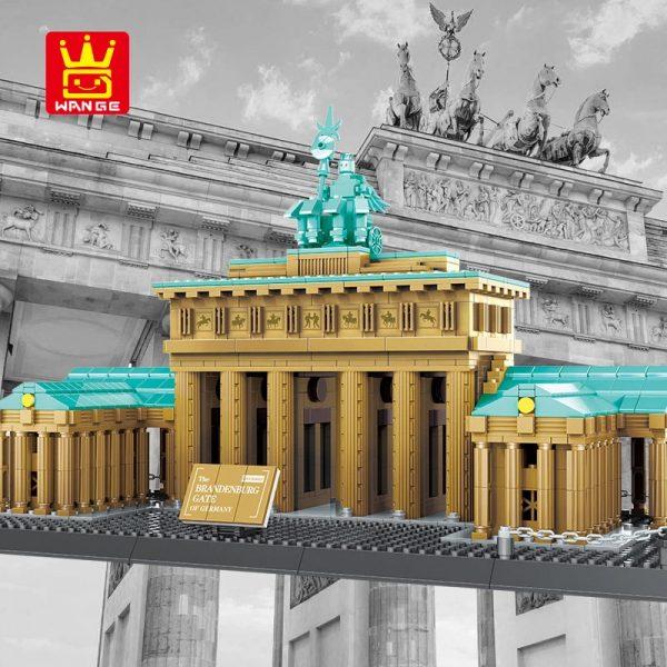 WANGE 6211 Brandenburg Gate Berlin Germany Blocks 2 - WANGE Block