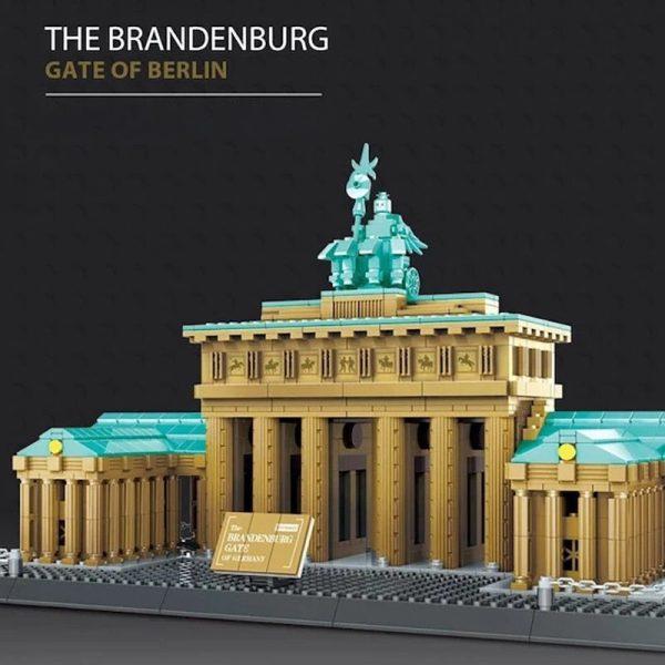 WANGE 6211 Brandenburg Gate Berlin Germany Blocks 7 - WANGE Block