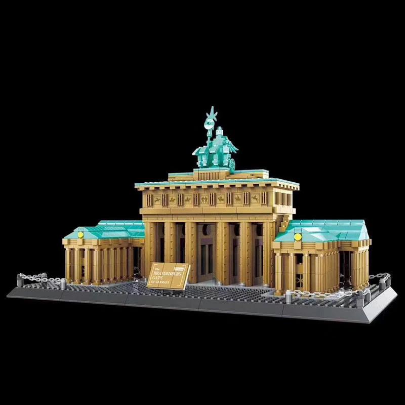 WANGE 6211 Brandenburg Gate Berlin Germany Blocks 8 - WANGE Block