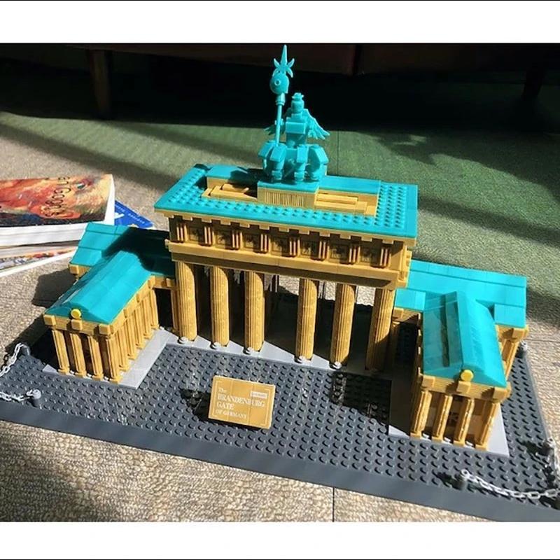 WANGE 6211 Brandenburg Gate Berlin Germany Blocks 9 - WANGE Block