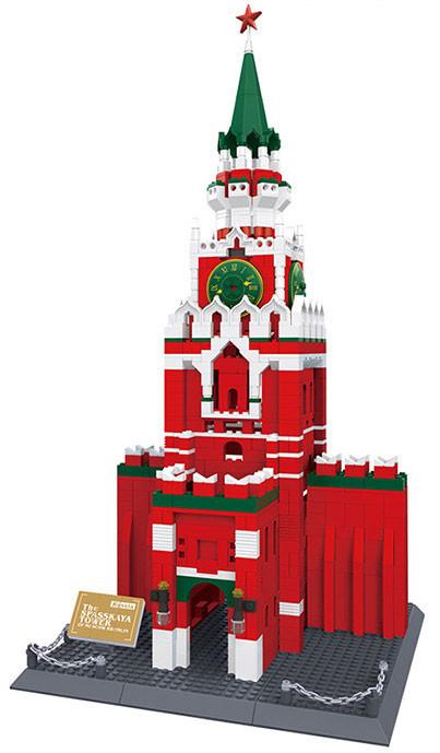 WANGE 8017 Kremlin Clock Tower, Moscow, Russia 0