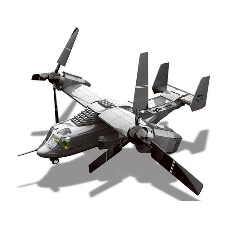 WANGE JX006 V-22 Osprey Rotary 1:44 0