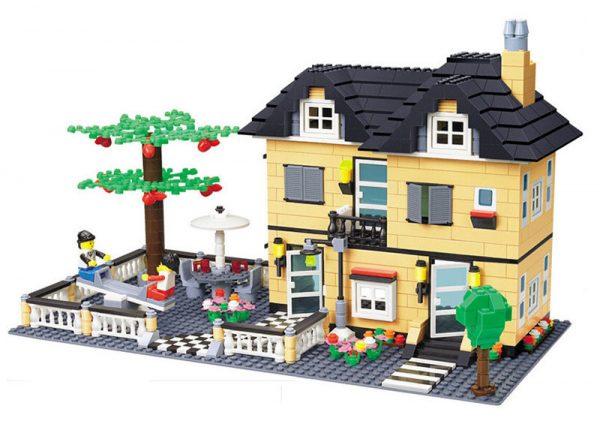 WANGE 34053 Luxury Villa Series: Model C 0