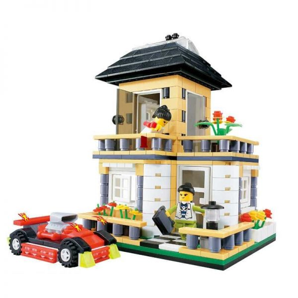 WANGE 31051 Small Villa Series: A 0
