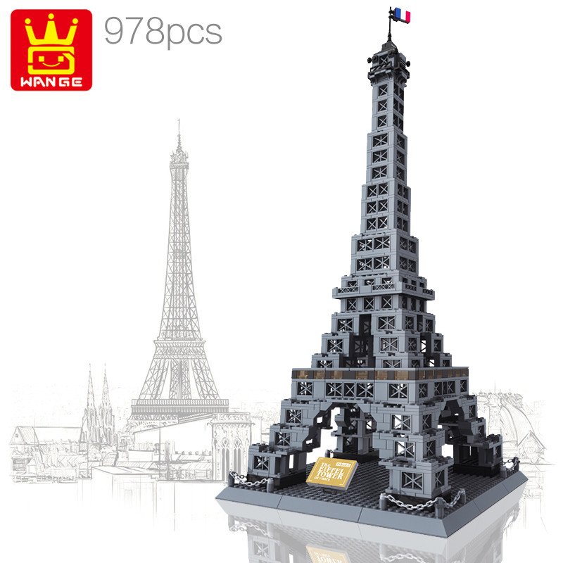 WANGE 8015 Eiffel Tower, Paris, France 0