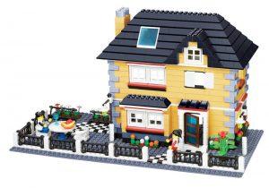 WANGE 34051 Luxury Villa Series: Model A 0