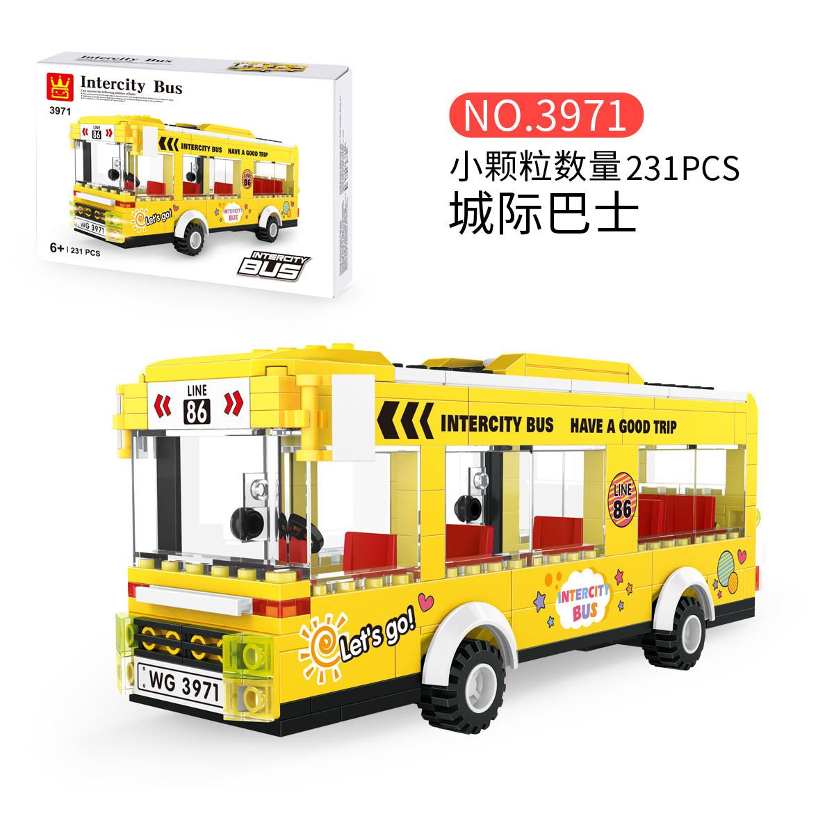 WANGE 3971 City Bus: Intercity Bus 0