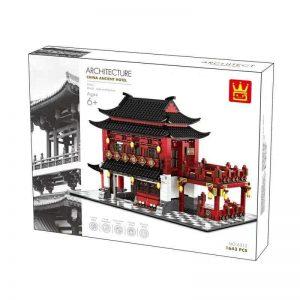 WANGE 6312 Architecture: China Ancient Wind Inn New China Upstairs Building 0