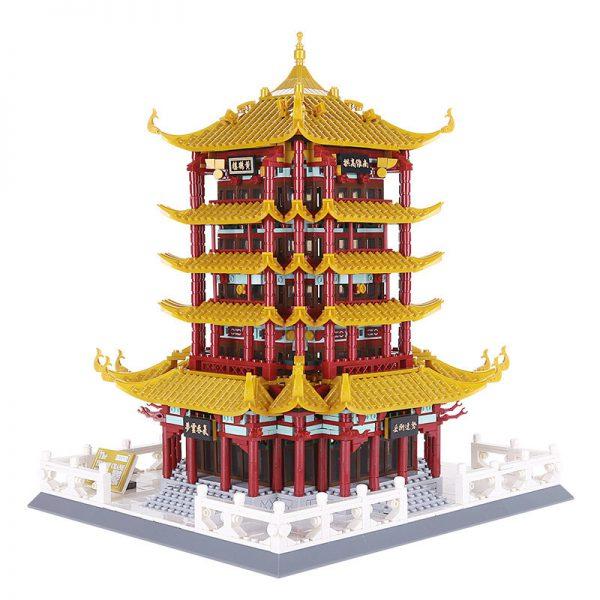 WANGE 6214 Yellow Crane tower in Wuhan Hubei Province