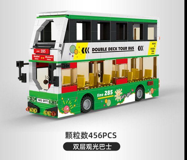 WANGE 5971 Double-decker sightseeing bus 0