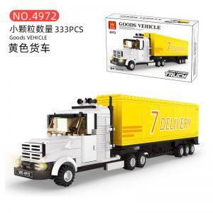 WANGE 4970 Yellow truck 0
