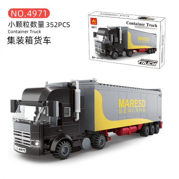 WANGE 4971 Container truck 0